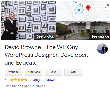 Wordpress Guy with Client